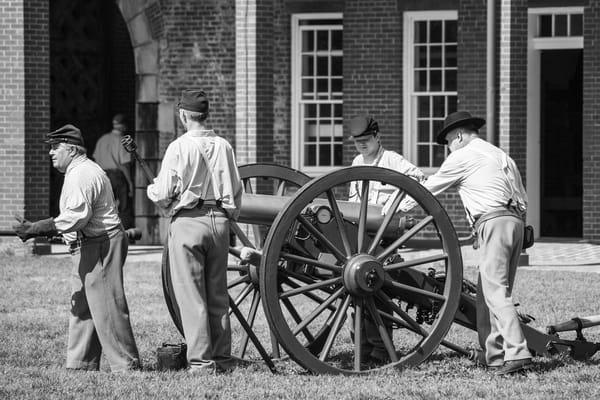 Preparing the Cannon