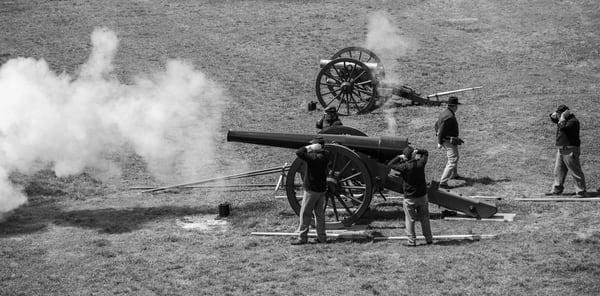 Firing the Cannon Two