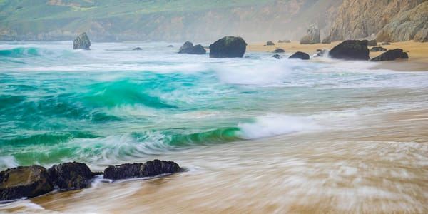 Big Sur Surf Art | Andrew Collett Photography