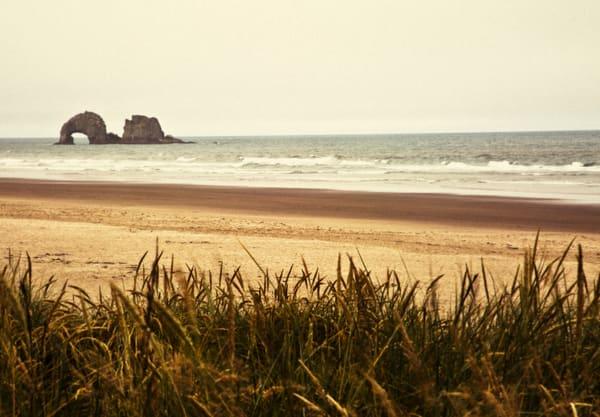 Beaches coasts Rockaway Oregon Twin Rocks