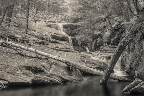 Enders Falls Study 2 Photography Art by peterwnek