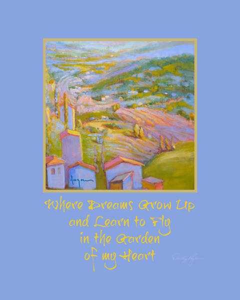 Where Dreams Grow Up & Learn to Fly | Inspirational Art Print
