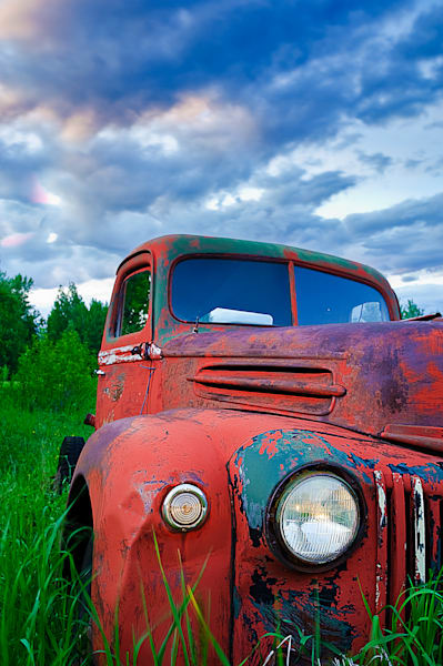 Feeney's Truck Photography Art | Kokanee Camera and Nelson Fine Art Printing
