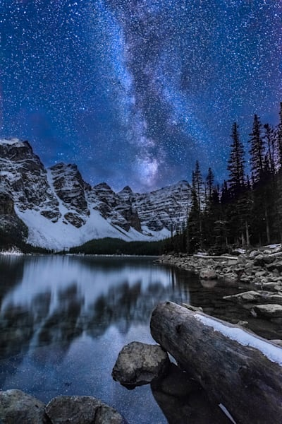 Milky Way Moraine Lake