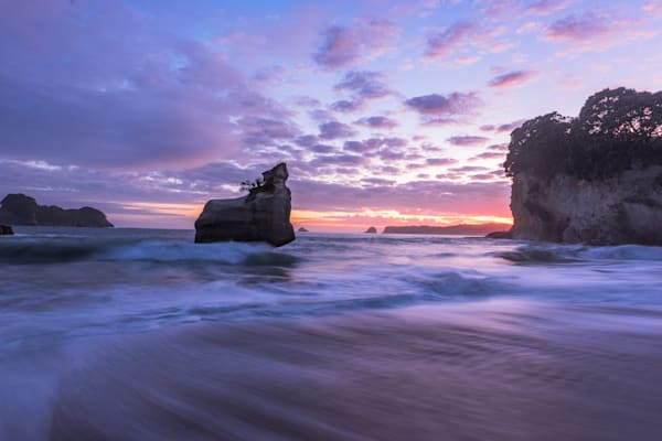 Cathedral Cove Sunrise Ii Photography Art | Kokanee Camera and Nelson Fine Art Printing