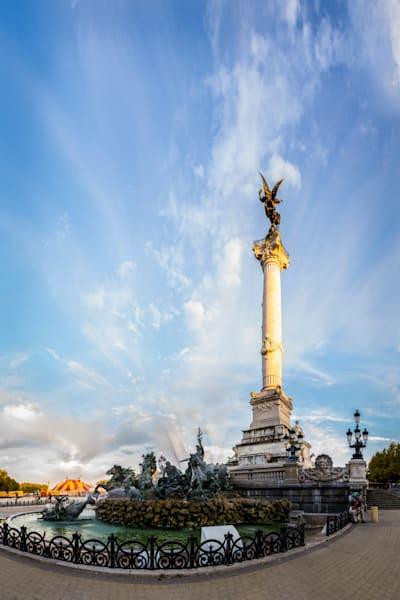 Monument aux Girondins - Bordeaux - France