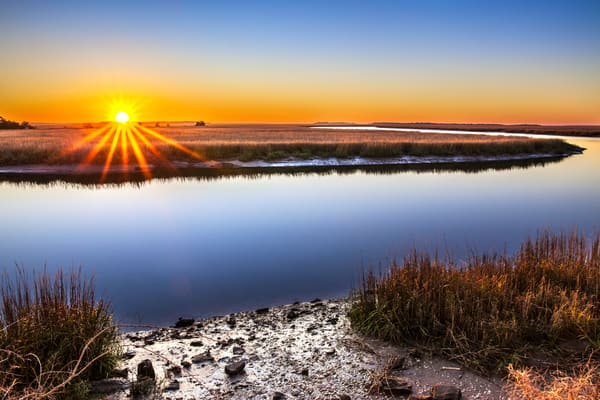 Sunrise at Harris Neck Creek