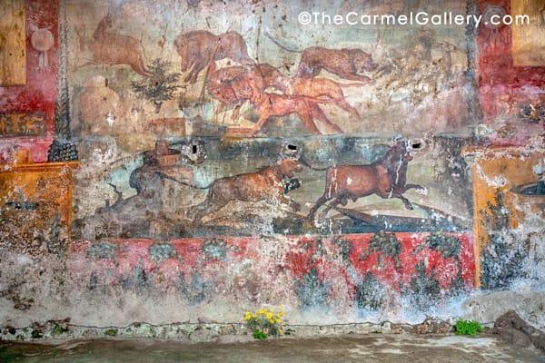 Pompeii Mural Art | The Carmel Gallery
