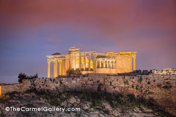Erechtheion Temple For Athena Art | The Carmel Gallery