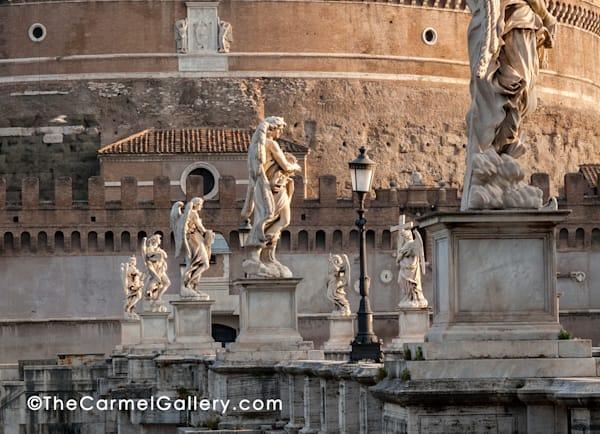 Morning Angels Rome Art | The Carmel Gallery