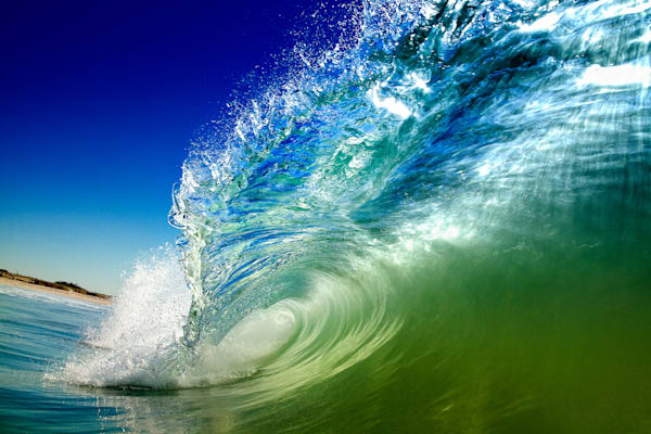 Liquid Crystal Wave Photography