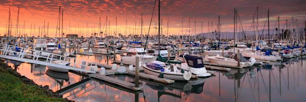 """""""Harbor Sunset"""" - Panoramic"""
