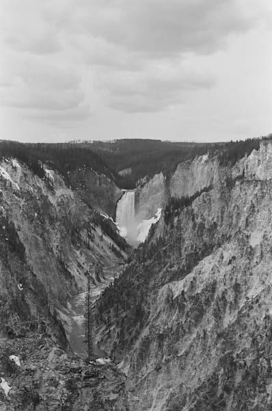 Black and White Photograph from Artist Point for sale as Fine Art