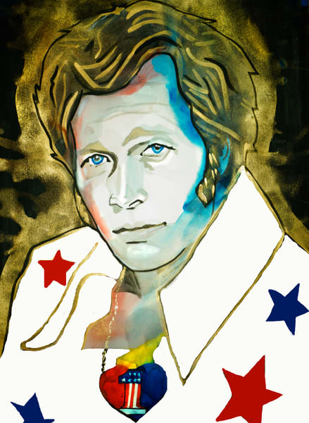 Evel Knievel Art | William K. Stidham - heART Art
