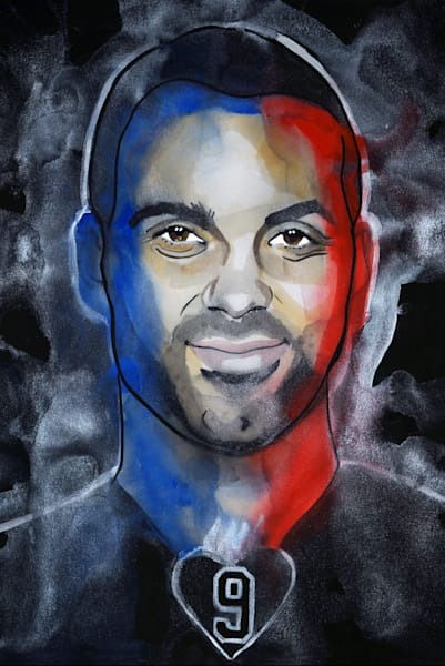 Tony Parker Art | William K. Stidham - heART Art