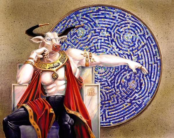 Labyrinth Master   Original Art | Melissa A Benson Illustration