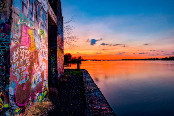 Sunrise on Graffiti Underground #2 Fine Art Photograph | JustBob Images