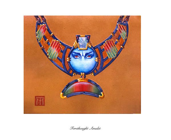 Forethought Amulet Magic the Gathering limited edition print