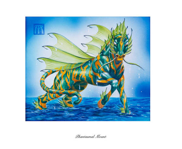 Phantasmal Mount Magic the Gathering limited edition print