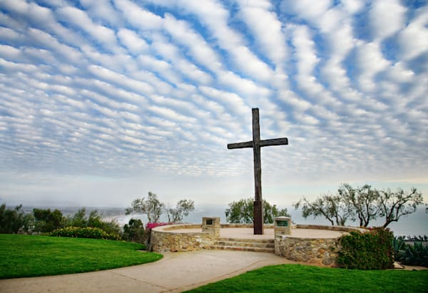 """Painted Sky at the Cross"""
