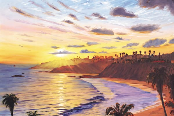Laguna Beach Paintings by Steve Simon