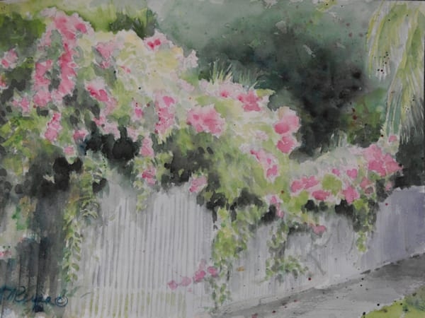 Blooming Fence Art for Sale