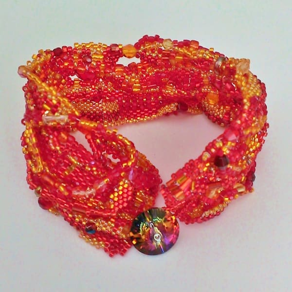 Catch The Fire Cuff by Kathryn Lane Berkowitz