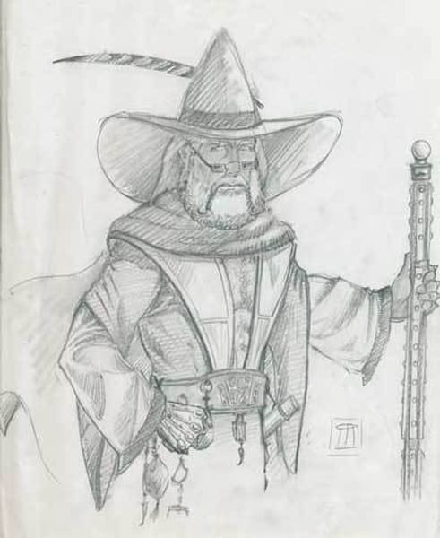 Sketches from Role playing portraits