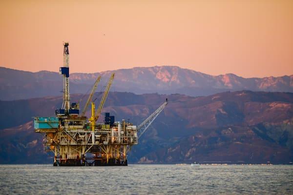 """California Oil Platform"""