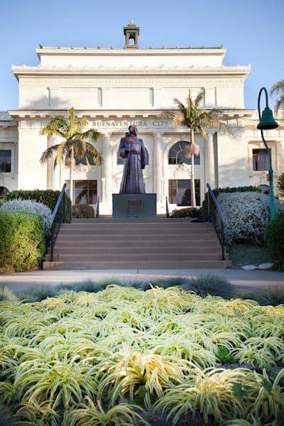 """Ventura City Hall Grand View"" - Vertical"