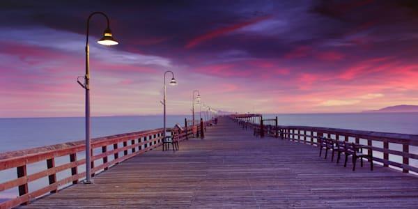 """Vivid Sunset Ventura Pier"""