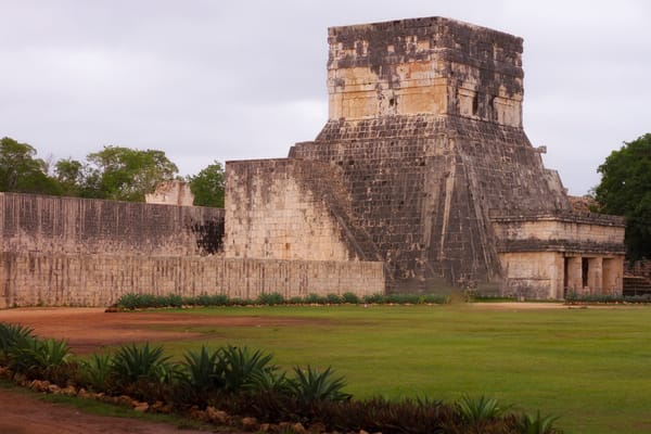 Fine Art Photograph of Fort in Chichen Itza by Michael Pucciarelli