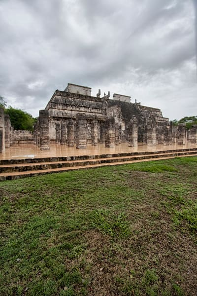 Fine Art Photographs of Chichen Itza Forts by Michael Pucciarelli