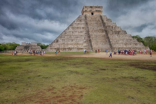 Chichen Itza Fine Art Photograph by Michael Pucciarelli
