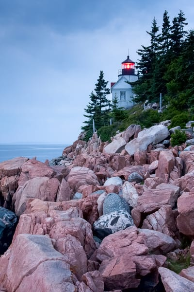 Lighthouse Wall Art: Bass Harbor Lighthouse
