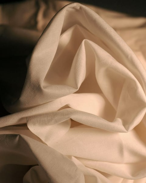 Fabric Folds in Neutral