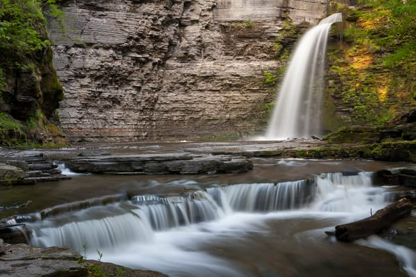 Waterfall Wall Art: Havana Glen Falls
