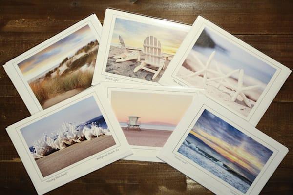 """Beach Life""  Notecard Set of Six 5x7 Cards"