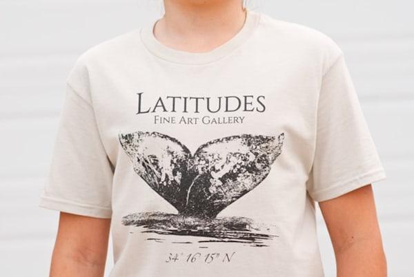 Latitudes Logo T-Shirt- Sand Color