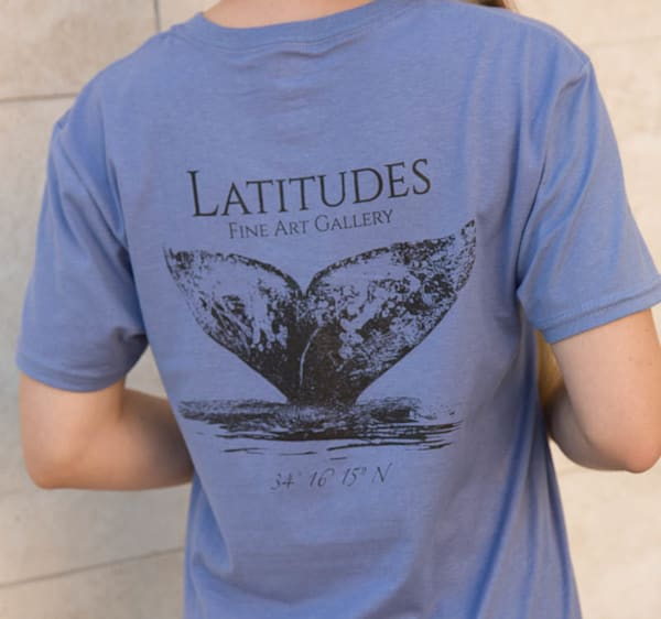 Latitudes Logo T-Shirt- Slate Blue - SOLD OUT