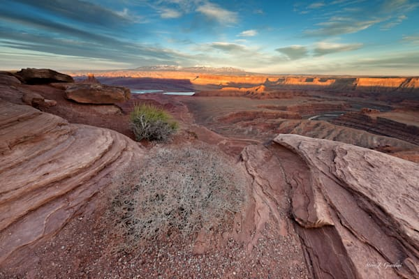 Dead Horse Point (161391LND8) Moab Utah Photograph for Sale as Fine Art Print
