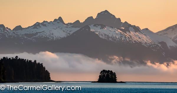 Sunset Fog, Alaska