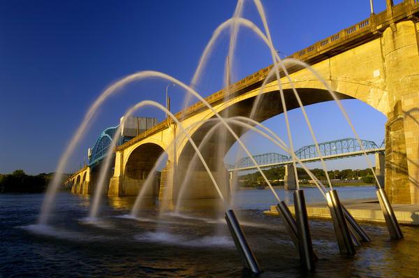 Market Street Bridge & Fountain