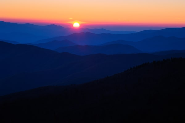 Sun Setting at Clingmans Dome