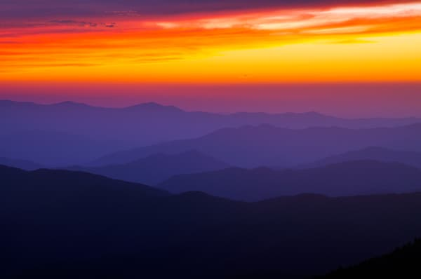 Dusk at Clingmans Dome