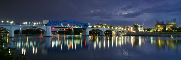 Market Street Bridge & Storm Panorama
