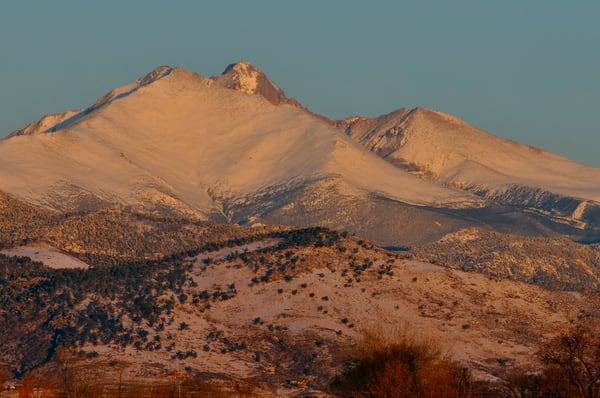 Morning in the Rocky Mountains