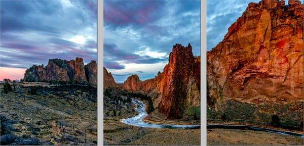 Sunrise Smith Rock (131042LNND8) Smith Rock State Park Photograph for Sale as Fine Art Print