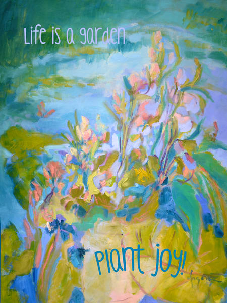A Pond of My Own | Inspirational Wall Graphic by Dorothy Fagan