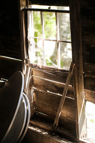 Barn Window - color